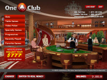 One Club Casino Lobby