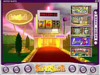 SuperSlots Online Casino Lobby